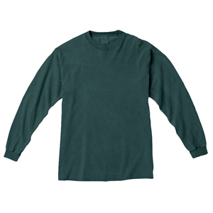 COMFORT COLORS GARMENT DYED LONG SLEEVED T-SHIRT