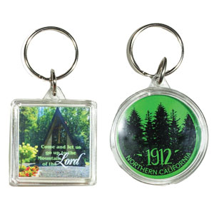 FULL COLOR ACRYLIC KEY TAGS