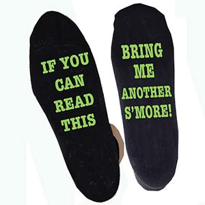 GLOW IN THE DARK ANKLE SOCKS