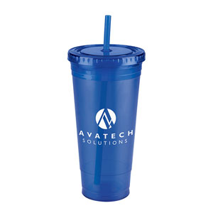DOUBLE WALLED ACRYLIC TUMBLER, 24 OZ