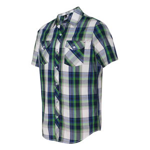 BURNSIDE PLAID SHORT SLEEVE SHIRT