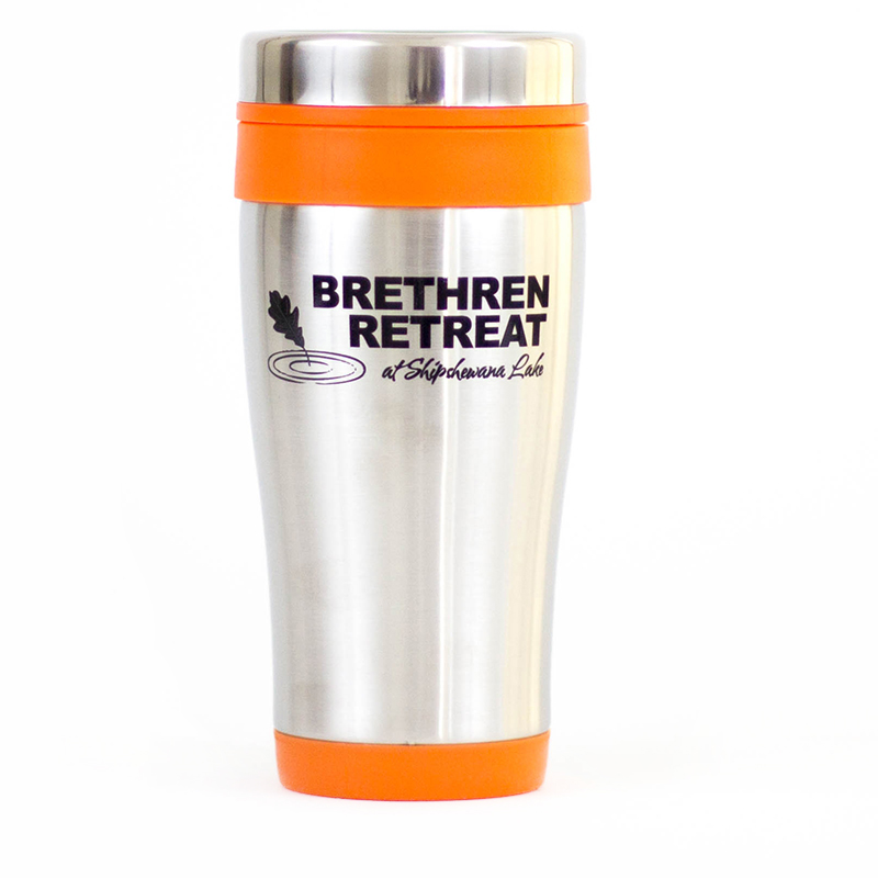BANDIT STAINLESS INSULATED TRAVEL MUG, 15 OZ
