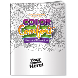 COLORING COMFORT BOOK & PENCIL SET