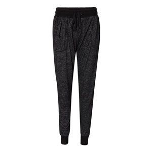 LADIES COZY HEATHER JOGGER