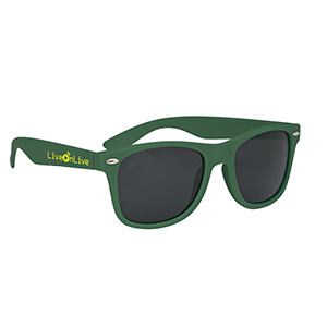 FROSTED VELVET MALIBU SUNGLASSES