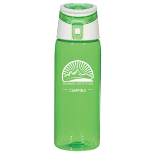 FLIP TOP SPORTS BOTTLE, 24 OZ