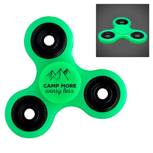 GLOW IN THE DARK FUN SPINNER