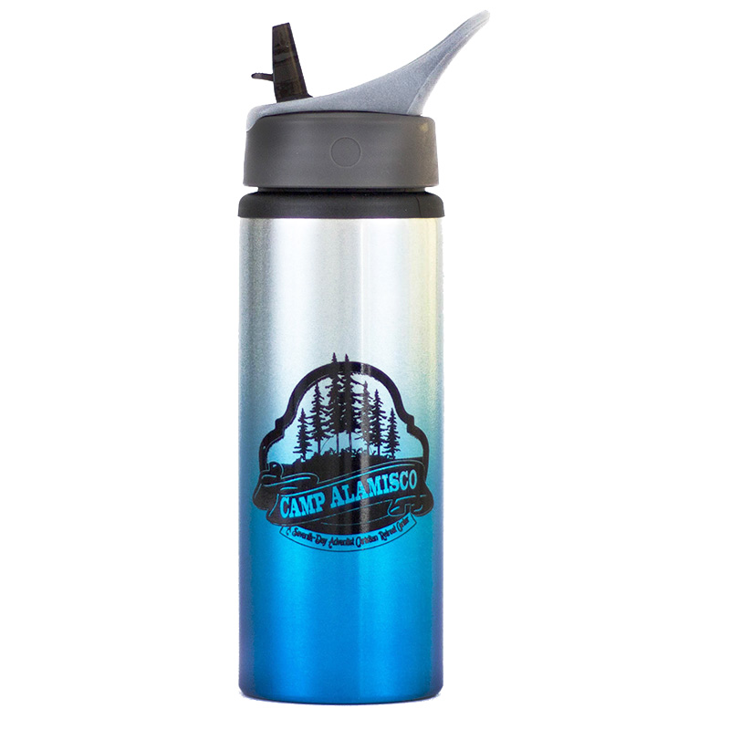 OMBRE GRADIENT STRAW BOTTLE, 21 OZ