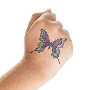 CUSTOM GLITTER TATTOOS 2X2