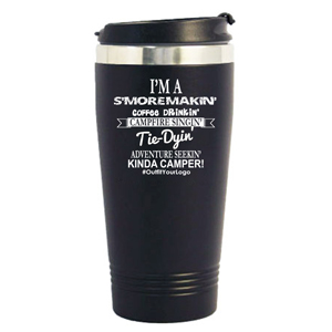 STAINLESS IN & OUT TUMBLER, 16 OZ