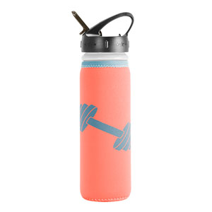 NEOPRENE INSULATED BOTTLE, 22 OZ FLIP CAP