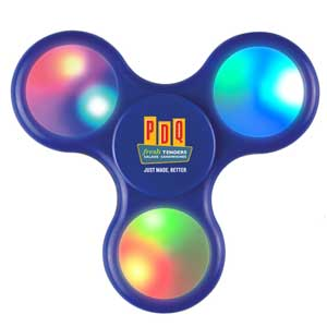LIGHT UP LED FIDGET SPINNER