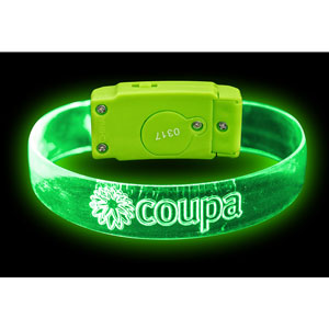 LIGHTNING SOUND ACTIVATED WRISTBAND
