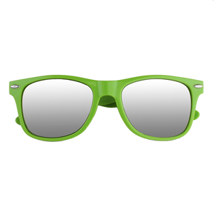 MIRRORED LENS MALIBU SUNGLASSES, COL FRAME