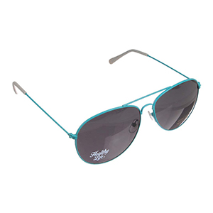 NEON FRAMED AVIATOR SUNGLASSES
