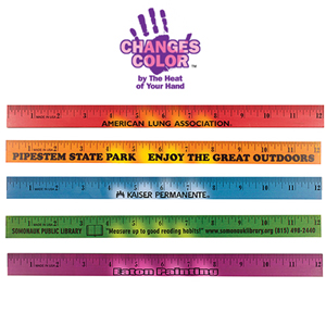 MOOD WOOD RULER, 12