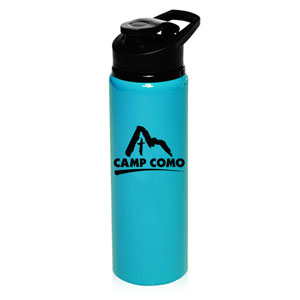 NEON ALUMINUM WITH THUMB POP LID, 25 OZ