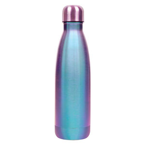 NEO-CHROME FLUTED VACUUM BOTTLE, 20 OZ