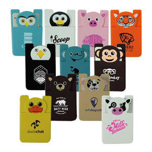 PAWS N CLAWS SILICONE CELL PHONE POCKET