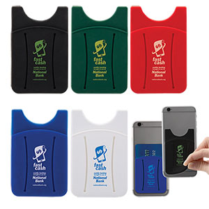 FINGER SLIT CELL PHONE WALLET
