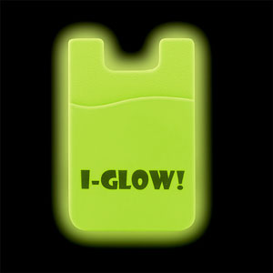 GLOW IN THE DARK PHONE WALLET