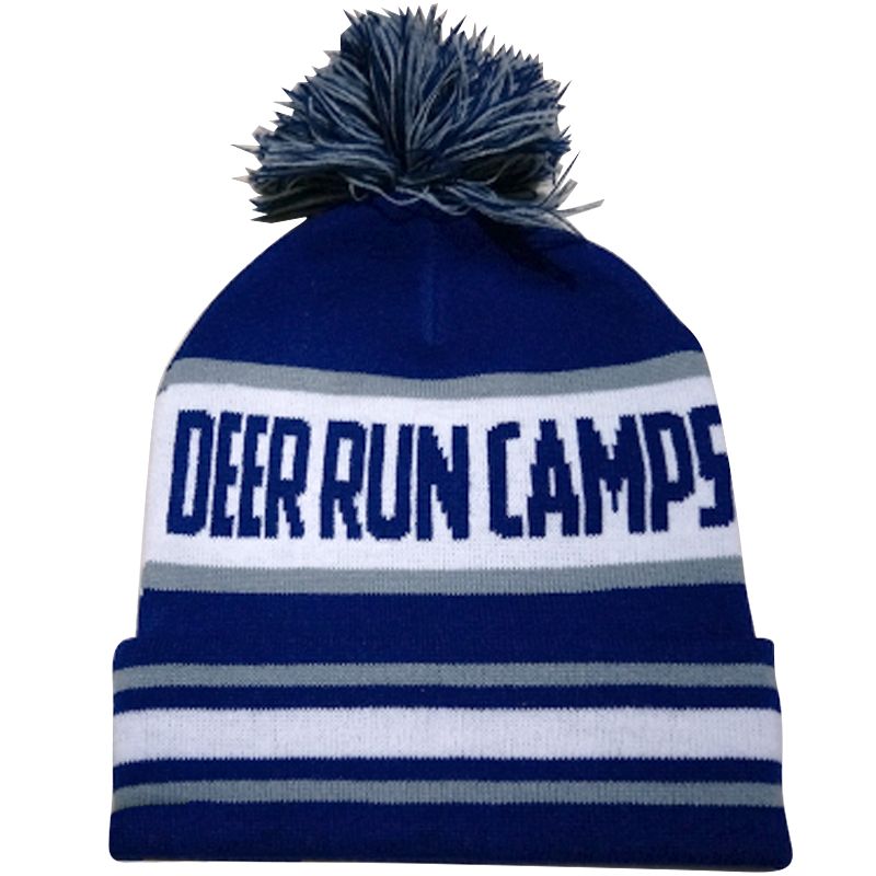 71b27db4546 CUSTOM KNIT POM POM BEANIE - Logo Products for Camps