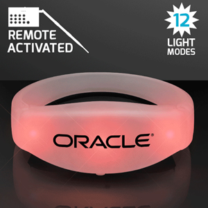 REMOTE ACTIVATED LED BRACELETS