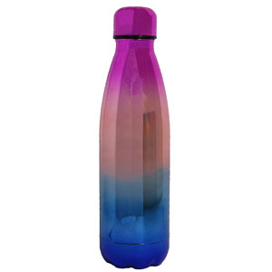 RAINBOW FLUTED VACUUM BOTTLE, 16 OZ