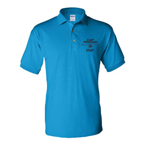 EMBROIDERED  STAFF SHIRT, JERSEY 50/50