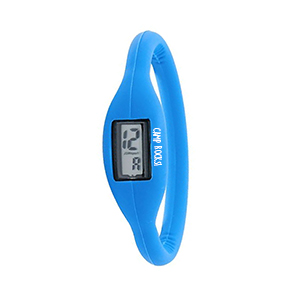 NARROW SILICONE WATCH BRACELET