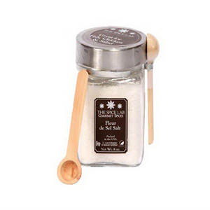 GOURMET SALTS IN LARGE JAR WITH SPOON