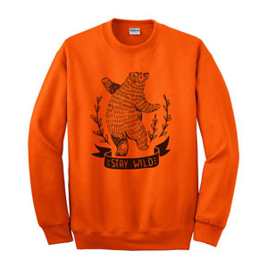 EMBROIDERED SWEATSHIRT, 9.3 OZ