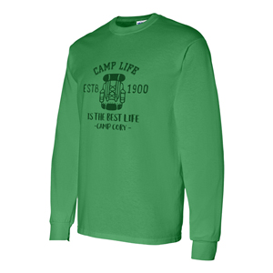 SCREENED 100% CTN LONG SLEEVE T-SHIRT