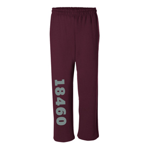 OPEN BOTTOM SWEATPANTS, 8 OZ