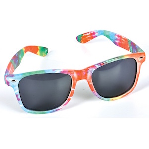 TIE DYE MALIBU SUNGLASSES, SPLASH