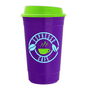 THE TRAVELER INSULATED CUP, 15 OZ