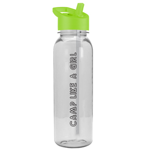 OUTBACK ADVENTURE BOTTLE, 24 OZ FLIP STRAW LID