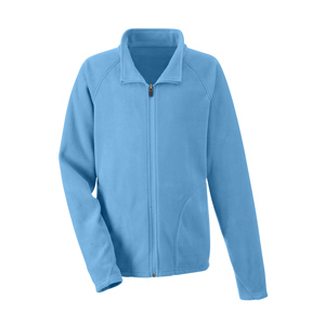 YOUTH EMBR CAMPUS MICROFLEECE JACKET