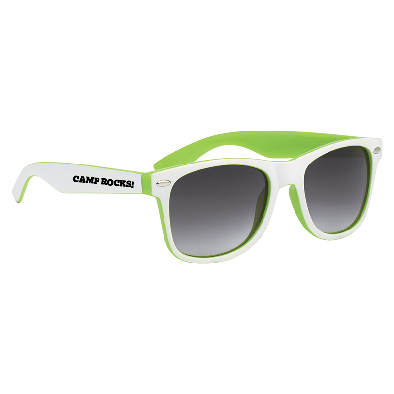 RECYCLED TWO TONE MALIBU SUNGLASSES