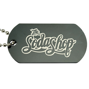 VALUE COLORED ENGRAVED DOG TAG