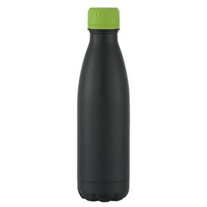 24 HR MATTE BLACK FLUTED VACUUM , 16 OZ