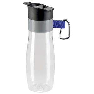 VISTA FLIP LID BOTTLE W/CARABINER