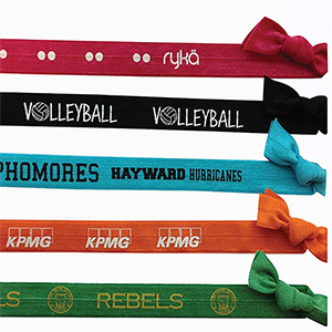 WRISTBAND HAIR TIES