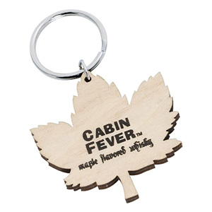 CUSTOM SHAPED WOOD KEY CHAIN