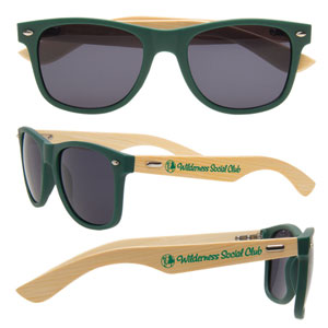 REAL WOODEN SUNGLASSES
